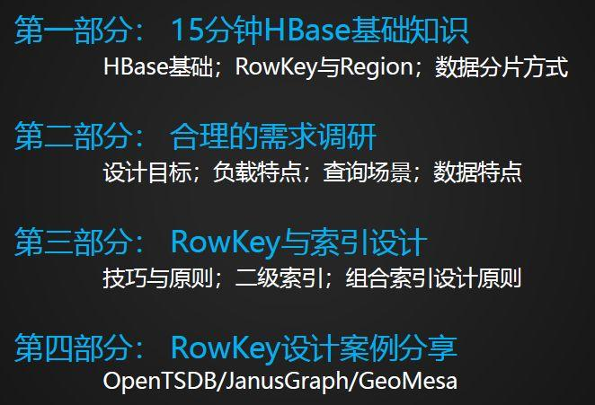 HBase RowKey与索引设计