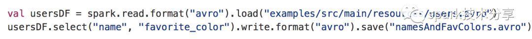 学习 | Spark 2.4 原生支持了avro, 别再引用第三方库了